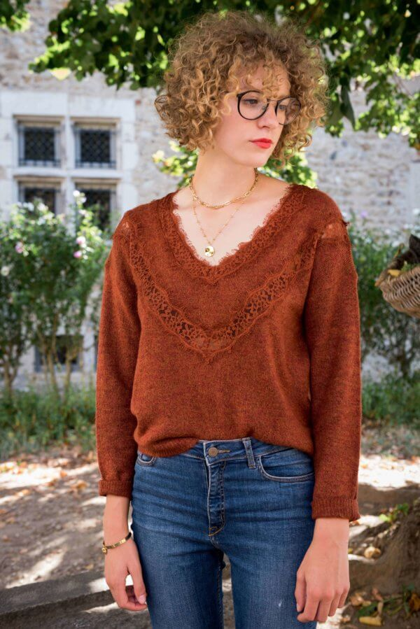 pull doux effet loose